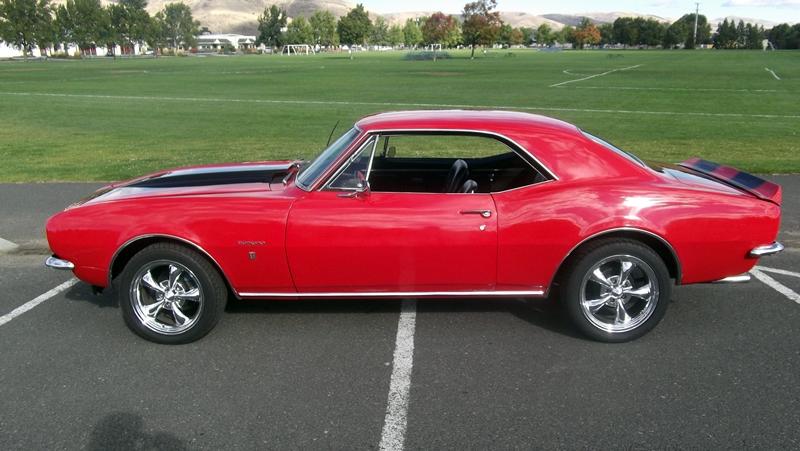 red 1967 camaro